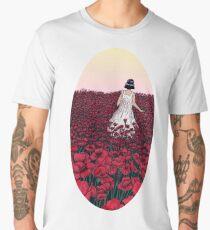 Field of Poppies   Coloured Version Men's Premium T-Shirt