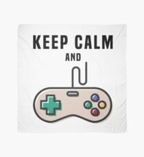 Keep Calm and Game Scarf