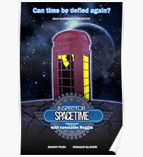 Inspector Spacetime (anotheronetime)  Poster