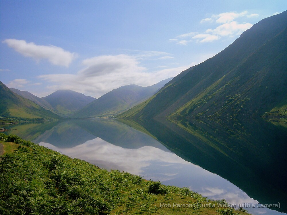 The Lake District: Wast Water Reflections 2. by Robert parsons