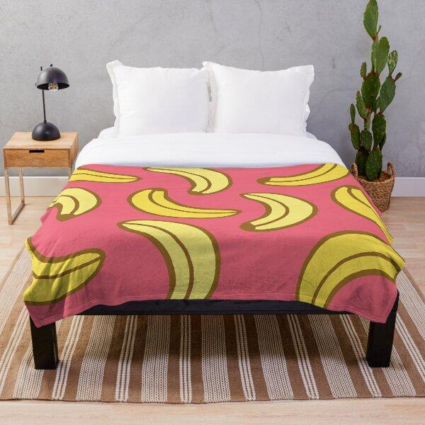 Bananas pattern Throw Blanket