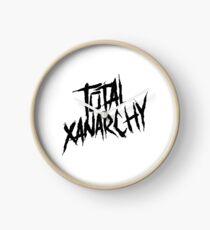 Total Xanarchy Clock