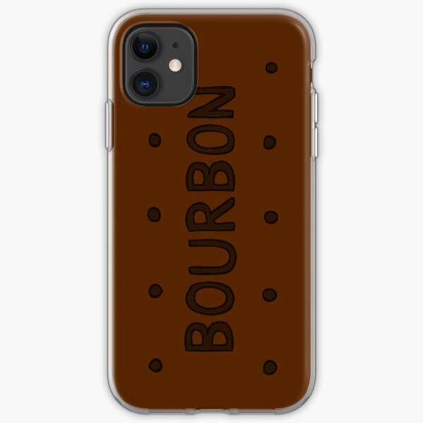 Chocolate Bourbon Biscuit iPhone Soft Case