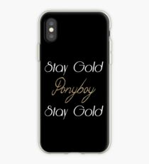 The Outsiders iPhone Case
