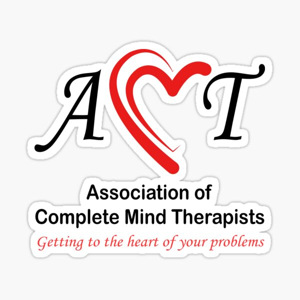 The Association of Complete Mind Therapists - ACMT / A.C.M.T. Sticker