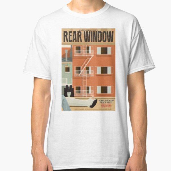 Rear Window alternative movie poster Classic T-Shirt
