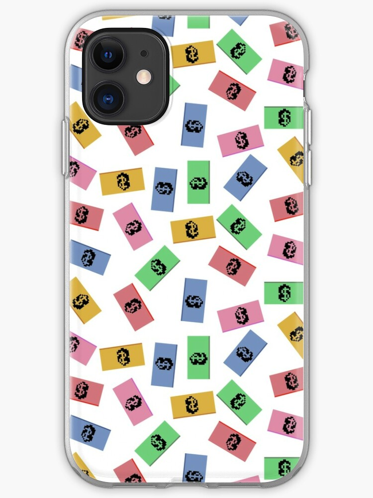 Cute Colorful Money Notes Pattern Wallpaper Iphone Case Cover By Susurrationstud Redbubble