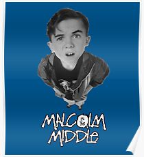 malclolm in the middle tv show Poster