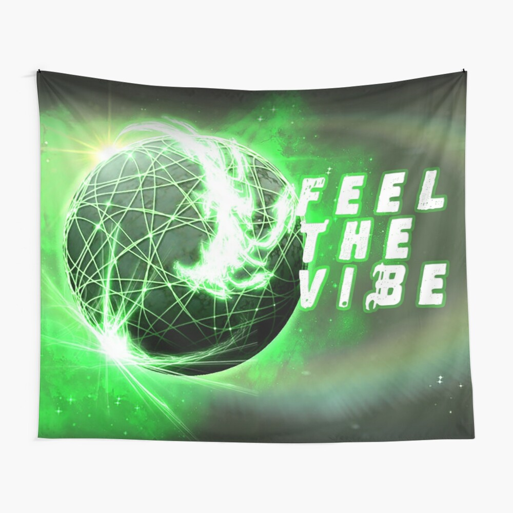 Feel the Vibe Wall Tapestry