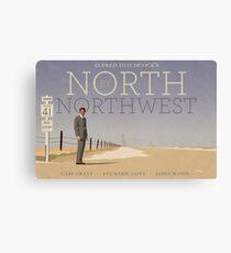 North by Northwest alternative movie poster Canvas Print
