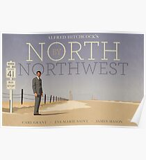 North by Northwest Alternatives Filmplakat Poster