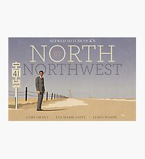 North by Northwest Alternatives Filmplakat Fotodruck