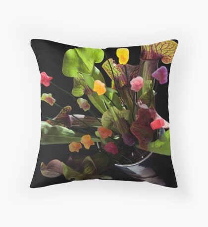 Jelly Baby Junglism Throw Pillow