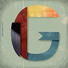 Type bird by JohanW