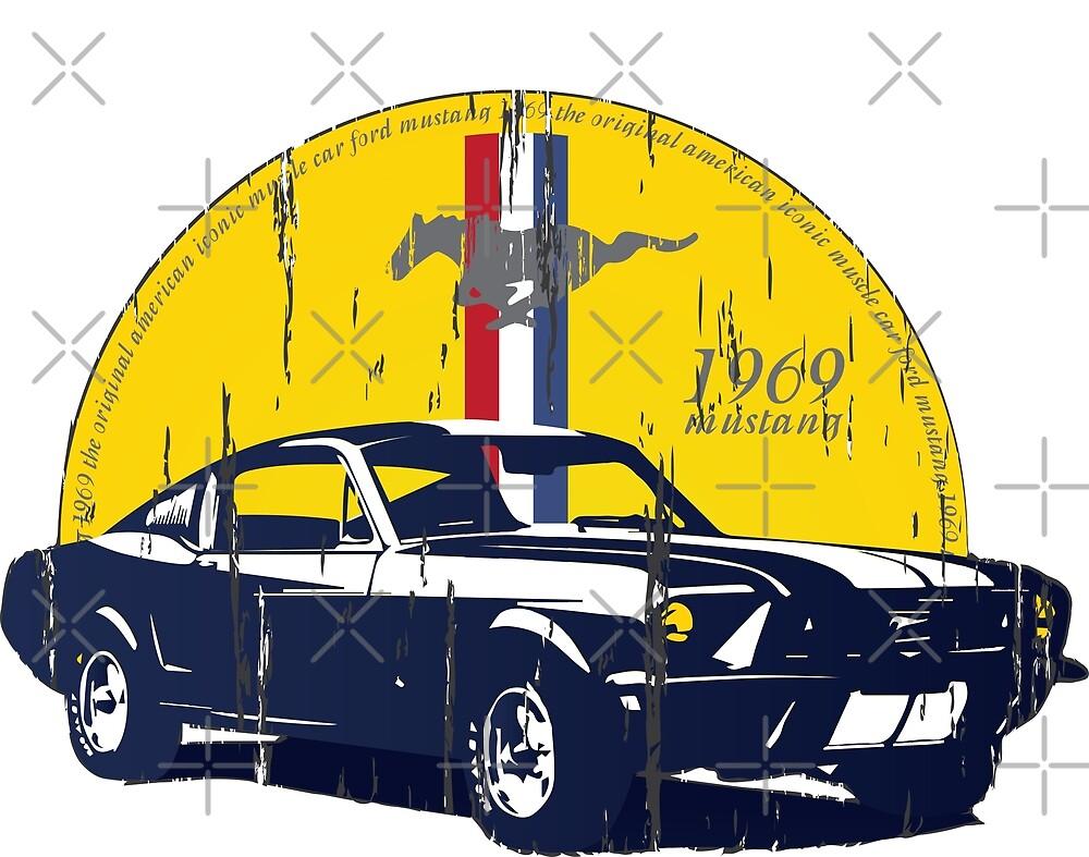Mustang Artwork\