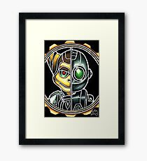 Metallic Ratchet And Clank Framed Print