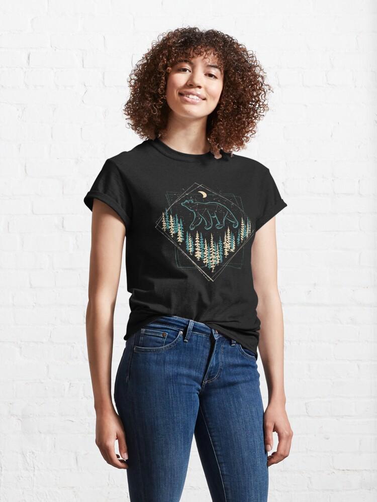 Alternate view of The Heaven's Wild Bear Classic T-Shirt