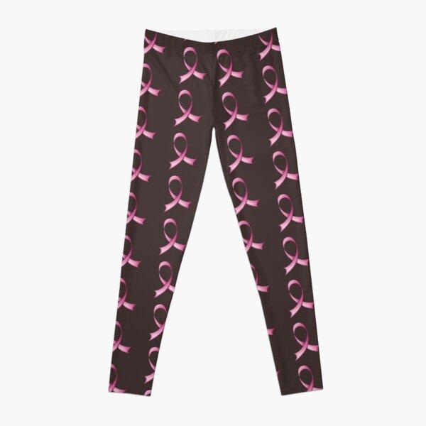 Pink ribbon Leggings