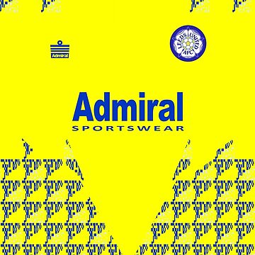 LUFC 92-93 Away Kit by superkickparty