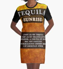 Tequila  Graphic T-Shirt Dress
