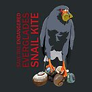 Save the Endangered Snail Kite (support the South Florida National Parks Trust) by BennuBirdy