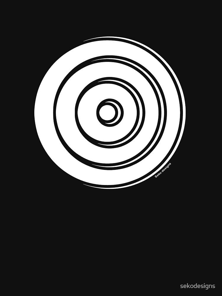 Mandala 33 Simply White by sekodesigns