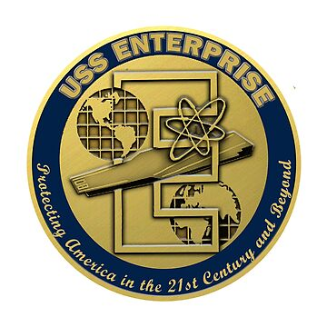 USS Enterprise (CVN-80) Crest by Spacestuffplus