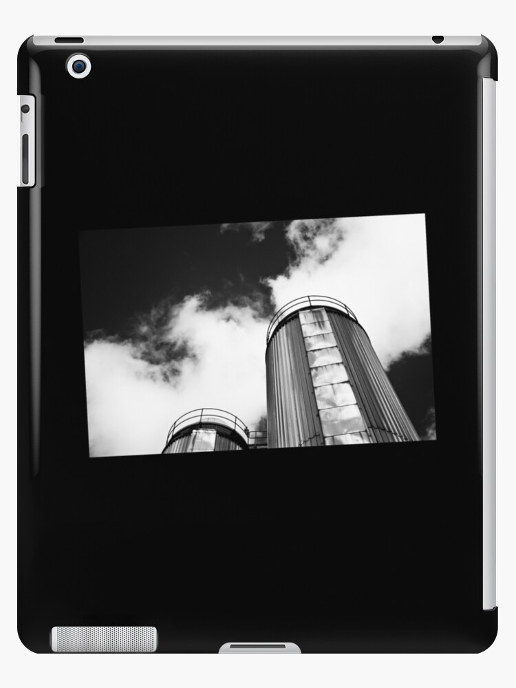 Dublin in Mono: Two Silver Towers by Denise Abé