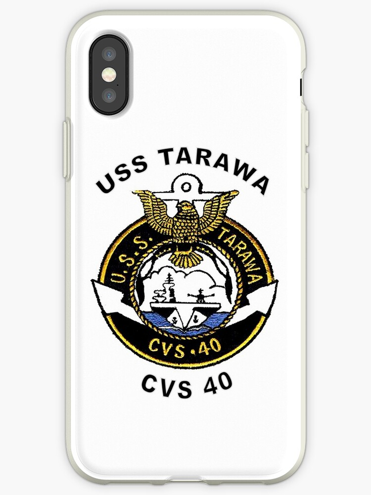 size 40 13560 38da2 'USS Tarawa (CV/CVA/CVS-40, AVT-12) Crest' iPhone Case by Nikki  SpaceStuffPlus