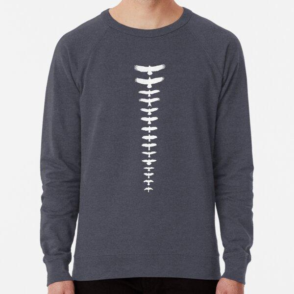 UK Birds of Prey - White Lightweight Sweatshirt