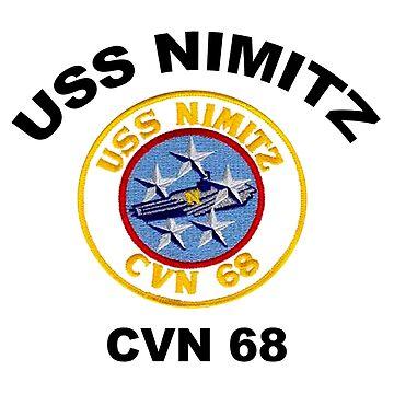 Crest of USS Nimitz (CVN-68)  by Spacestuffplus