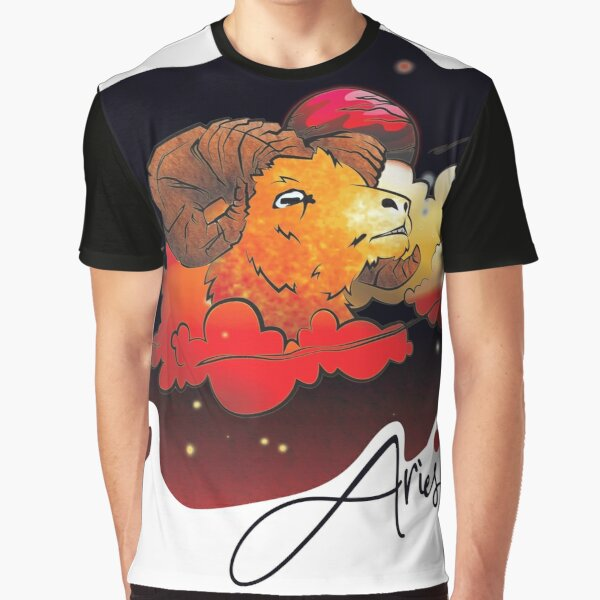 Aries in the Night Graphic T-Shirt
