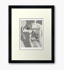 opinion Framed Print