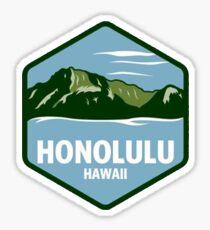 Honolulu Geotag Sticker
