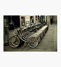 Bicycles for two, three, four...or more! Photographic Print