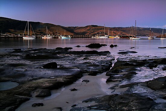 Twilight Apollo Bay by Joe Mortelliti