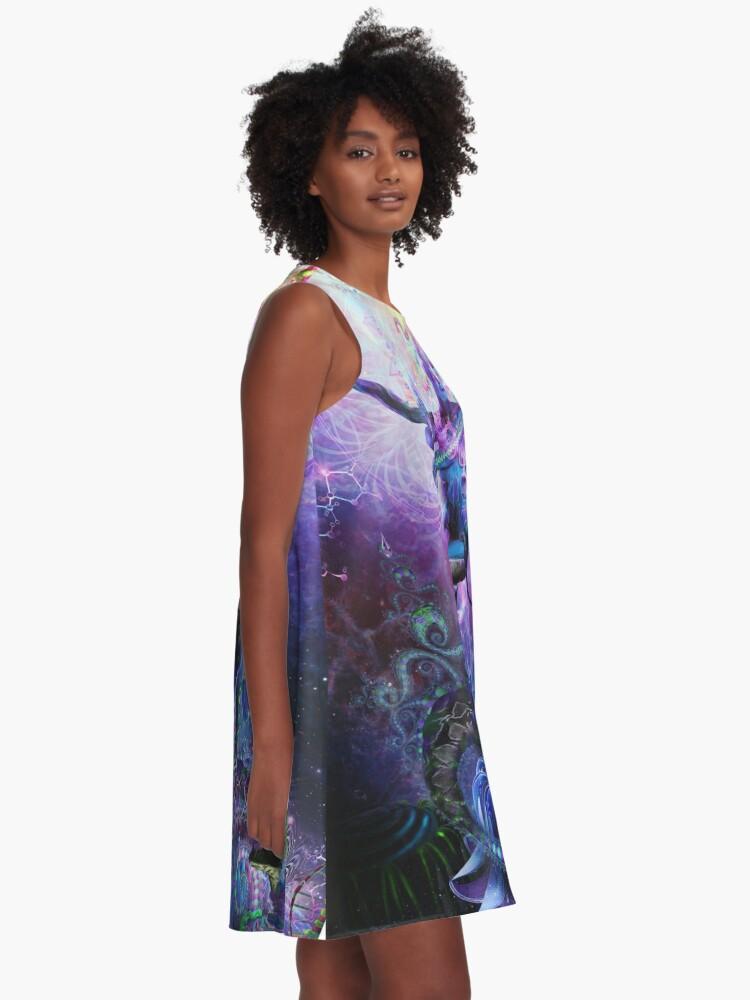 Alternate view of Serpentine Apotheosis A-Line Dress