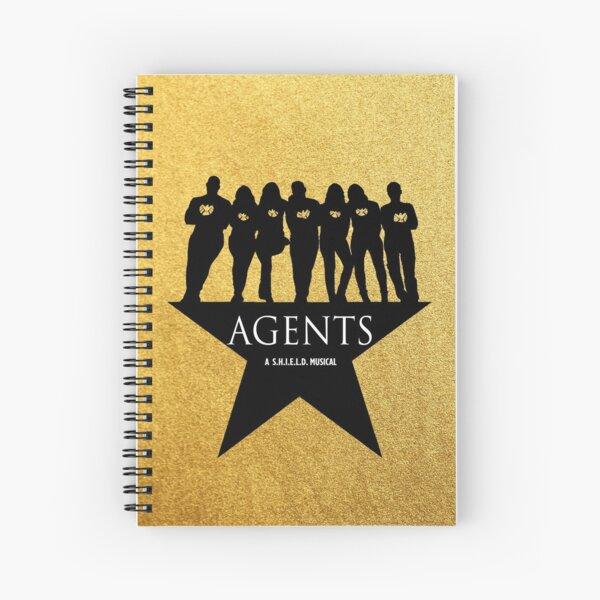 Agentes con mucho oro Cuaderno de espiral