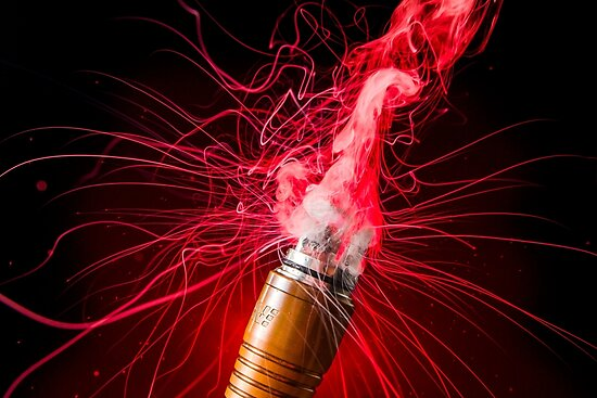 Red Vapor Flare by vappix