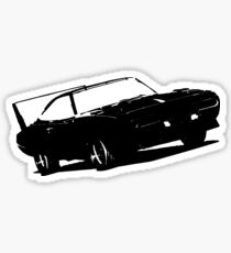 1969 Charger Daytona - Automotive Fan Art Sticker
