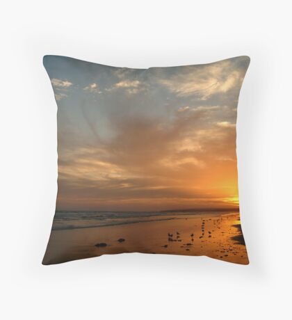 Pt Impossible Torquay, Great Ocean Road Throw Pillow