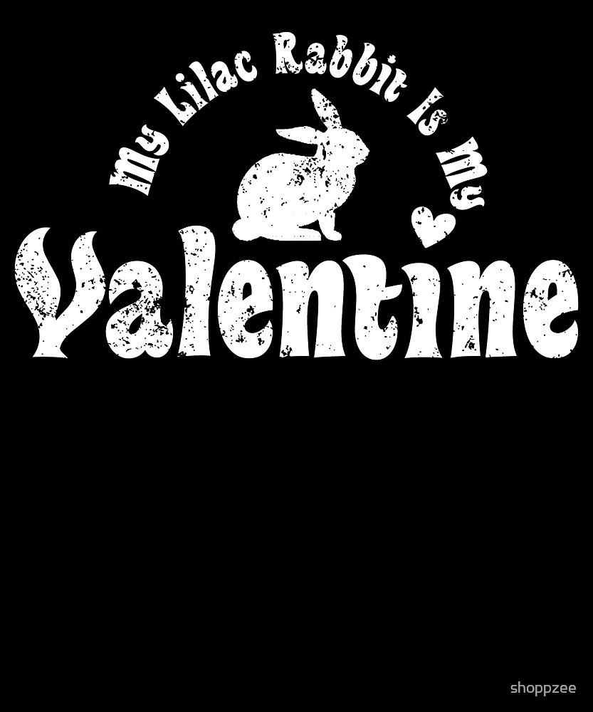 My Anti Valentine Pet Lilac Rabbit by shoppzee