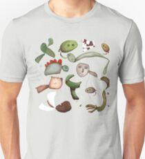 Animals and dinosaurs Unisex T-Shirt