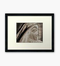 Lady Angel Celestial Woman Spiritual Art A145 Framed Print