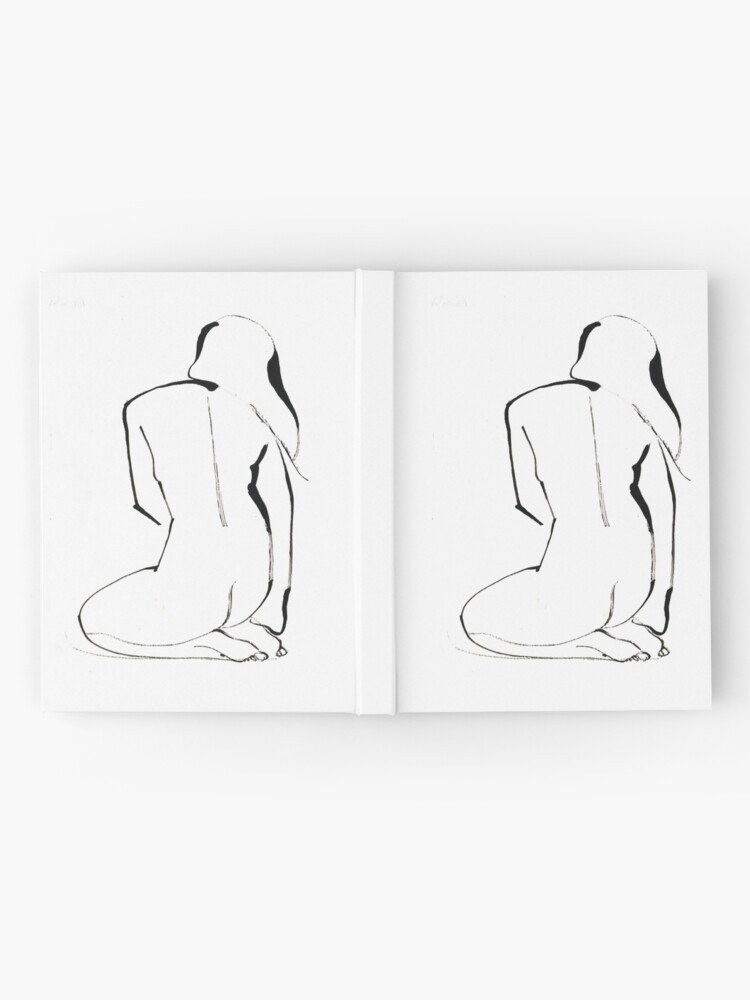 Alternate view of Nude Model Pose Drawing Hardcover Journal