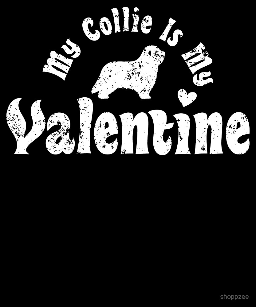 My Anti Valentine Collie by shoppzee