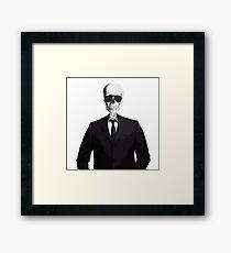 Skeleton Suit Framed Print