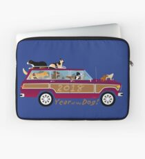 Year of the Dog - Waggies in a Waggy Laptop Sleeve
