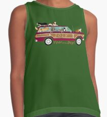 Year of the Dog - Waggies in a Waggy Contrast Tank