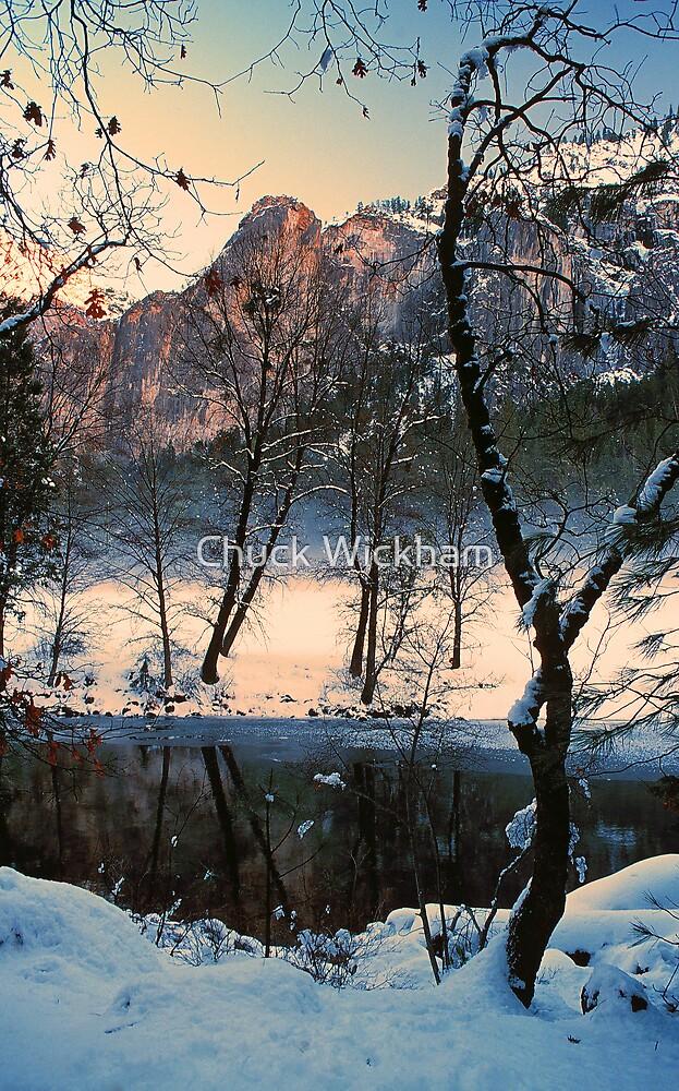 MERCED RIVER, WINTER by Chuck Wickham